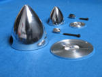"Ogiva alluminio 64mm. 2,5"""