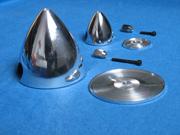 "Ogiva Alluminio 45mm. 1,75"""