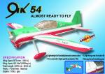 Naca motore Yak 54 Cymodel mt 2,60