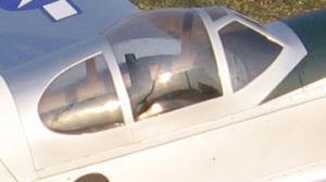 Capottina pilota Maustang P51B