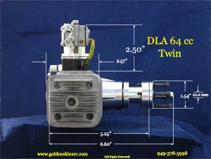 DLA engine 64 ccTwin