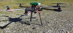 Drone F800 in corbonio