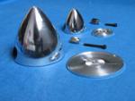 """Aluminum Spinner 64mm. 2,5"""""""